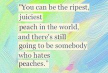 words of wisdom / by Jessica Dobies