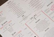 Graphic Design | Menus / by Chrisman