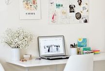 Desk/ Work Space / by Veronica Torres