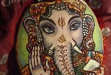 Ganesh Tattoos / by Stephanie Bernaba