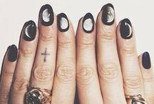 Nails / Nail varnish: A brilliant invention that allows you to wear art upon your very finger nails. / by Lawrayne Oclima