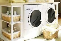 Laundry Goodness / Laundry ideas - get organized, pretty laundry room ideas, etc. / by Pearl Sanborn