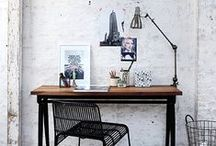 Creative Spaces / Studios, nooks and work spaces of artists and crafters. / by Michele Lea