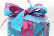 WrAp It uP / gift wrapping and adornments / by Lynn McAlexander