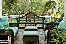 PoRcHeS, PaTiOs AnD DeCkS / Front, Back, and Side Covered and Open Air Porches, Patios, and Decks / by Lynn McAlexander