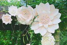 Pour les fleurs en papier / by Audrey Serelle