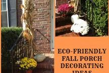 Autumn / Autumn and Fall Ideas, Decorations and Activities - #Fall #Autumn #September #October #November / by Becky at Crafty Garden Mama