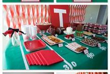 Superbowl Party Ideas / by Kerry @ First Time Fancy