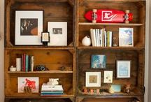 Styled Shelves / by Kerry @ First Time Fancy