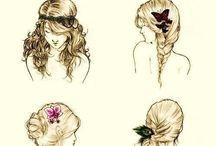 Hair raising / Those not so bad hair days / by Rebecca Rae