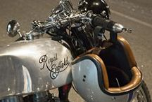 Cafe racers  / An ode to the Ton / by Sidera Errantia