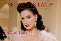 Catalog Covers - 1998 til Now / We started mailing small catalogs and brochures in the mid 1980's, the pre-press back then was laborious. Our first readable archives start in 1998 and are represented here. / by Secrets In Lace