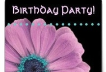 Birthday Parties - for WOMEN / by JaclinArt