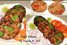 Kebabs..cutlets n more / by Shahida Ali