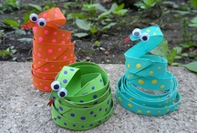 cute crafts for kids / by peppermint pattie