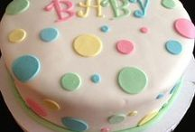 Baby Shower Cakes, Cupcakes / by peppermint pattie