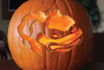 """Pumpkin Carving Contest / We held a pumpkin carving contest at our Store Support Center this week. """"Like"""" and """"repin"""" to vote for your favorite design! / by Market Street"""