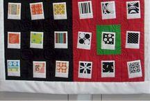 Moderne quilt / Avançons un peu dans la définition de cette branche récente du patchwork / by Odile Berget