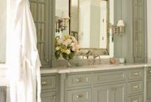 Beautiful bathrooms& powder rooms / by Pam Kelley