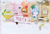 Scrapbook Layouts / Beautiful and Inspiring Scrapbook Pages / by Suzy Plantamura