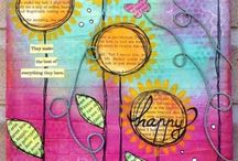 Mixed Media / Art journals ask and mixed media art (techniques are under separate catagory) / by Suzy Plantamura