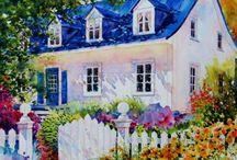 Art: Houses / by Lisa Swank