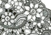 Zentangle Art / by Dani McDaniel