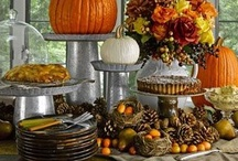 holiday and seasonal: fall with halloween and thanksgiving / by Brittney McKay