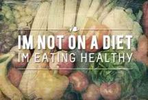 My Healthy Lifestyle / I'm NOT on a diet, I'm making better choices, eating cleaner and healthier for my life! / by Melissa Dery (The Golden Rule VA)