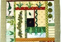 My Textile Garden / it's my art project showing the process of making garden themed art quilt - stay tunned / by Bozena Wojtaszek