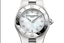 Baume & Mercier Linea / Linea, the perfect harmony of style and femininity. Discover the whole collection: http://bit.ly/LineaCollection / by Baume & Mercier