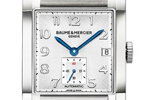 Baume & Mercier Hampton / Hampton, intimate harmony. Discover the whole collection: http://bit.ly/Hampton_Collection / by Baume & Mercier
