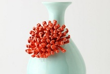 Turquoise & Corals / by Caitlin Gaudette