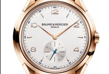 Baume & Mercier Clifton / Clifton, The ultimate classic watchmaking collection. A watch with quality watchmaking finishes at an affordable price. A classic yet contemporary design, playing with curves and harmony between the case and the strap for a comfortable fit. / by Baume & Mercier
