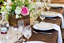 Tablescapes & Parties / Tablescapes, Parties & Events  / by Charlene Bell