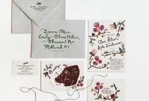 WEDDING INVITES / by Melissa Esplin
