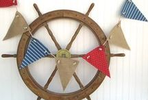 Decorating: Nautical Style / Plus 1,000 ways to decorate with anchors / by Kay