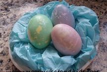 Eggscellent Easter Ideas / Crafts, decor, treats and ideas for Easter fun! / by Kathryn Lavallee