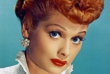 I love Lucy! / I watched and still watch I Love Lucy!!!  She was the funniest woman ever!  That show had a certain something that will never be recreated.  Whenever I saw a movie or show that scared or upset me I would switch to Lucy reruns and be quickly calmed and restored... / by Jan Reichard
