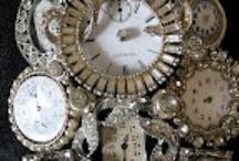 Recyled watch jewelry / by Jan Reichard