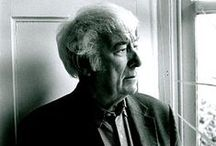 Seamus Heaney / In memoriam of Seamus Justin Heaney, MRIA - Irish poet, playwright, translator and lecturer, and the recipient of the 1995 Nobel Prize in Literature. / by Jellybooks Ltd.