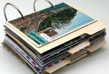 ART JOURNAL... mini albums / Cutest little mini journals! / by CherieLenore
