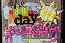 ART JOURNAL... challenges / Nothing like a good challenge to get your art journal full of great pages!! / by CherieLenore