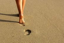 Footprints in the sand / by Jan Reichard