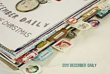 ART JOURNAL... december daily / Everything December Daily / by CherieLenore