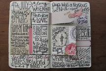 ART JOURNAL... pages / by CherieLenore