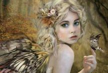 ~Fairy Hollow~ / I love Fairies, Fairie houses, gardens, clothing, etc.  Shhhhhh I do believe... / by Jan Reichard