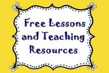 Free Lessons & Teaching Resources / Collection of free lesson plans and teaching resources to use in your classroom. / by Lesson Lady