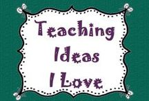 Teaching Ideas I love / These are teaching ideas I love that I would like to use in my classroom or that I think are great ideas! / by Lesson Lady
