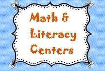 Math & Literacy Centers / Fun & creative math and literacy centers you might enjoy! / by Lesson Lady